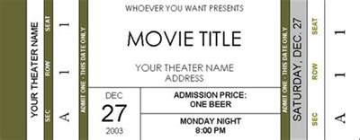 cinema ticket template word ticket invitations page 2 avs forum home