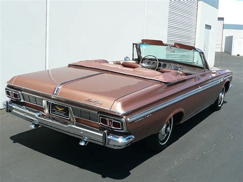 convertible sports 1964 plymouth sport fury convertible 80987
