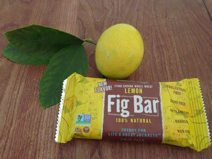 Fig Bar Lemon Sachet expert natures bakery fig bar review