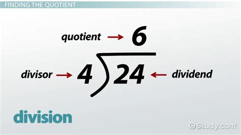 Professional Quotient quotient definition meaning lesson transcript