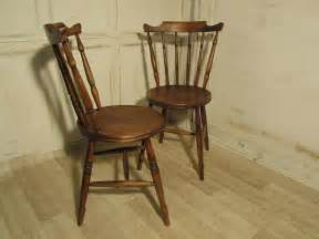 country chairs kitchen pair of beech elm country kitchen dining chairs
