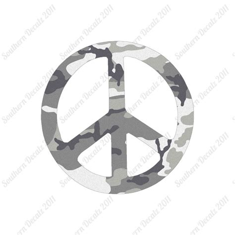 pattern sign vinyl peace sign vinyl decal sticker multiple patterns