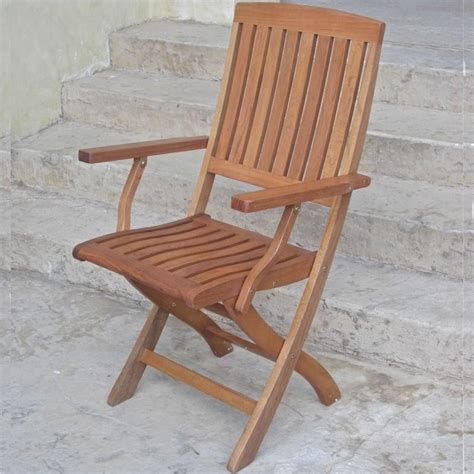 Folding Patio Furniture Sets by Set Of 2 Folding Wood Patio Chairs Tt Fa 040
