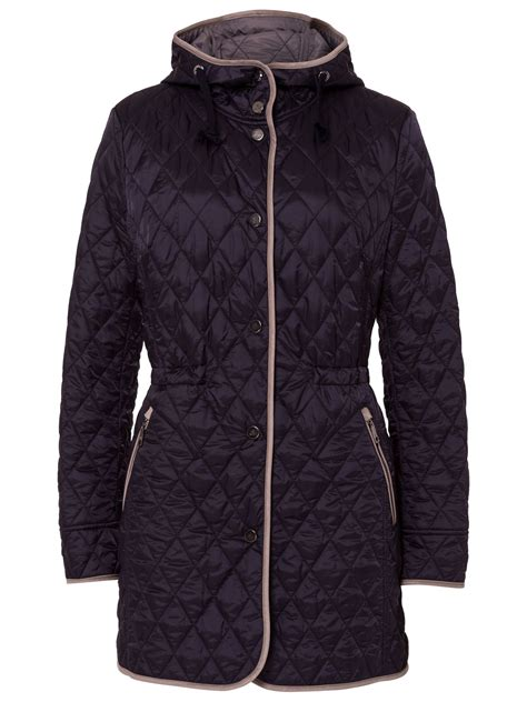 Lightweight Quilted Coats by Basler Lightweight Quilted Coat With In Black Save