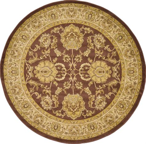 Classic Rug Brown Traditional Rugs Persian Oriental Area Authentic Rug