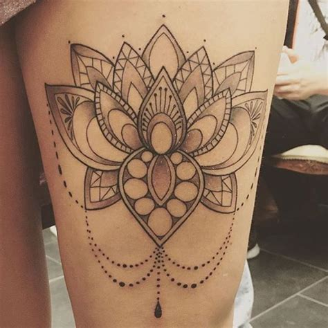 simple mandala tattoo top 25 mandala lotus tattoos golfian
