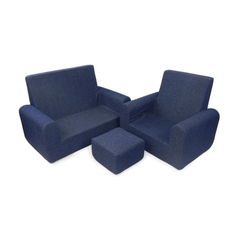 sofa chair ottoman fun furnishings 3 piece sofa chair and ottoman set atg