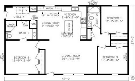 fairmont homes floor plans fairmont mobile home floor plans 171 mobile homes