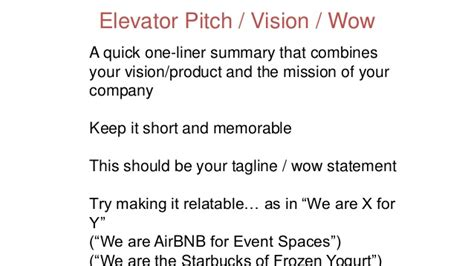 airbnb vision and mission eia2016 catherine moonan how to build a perfect pitch deck
