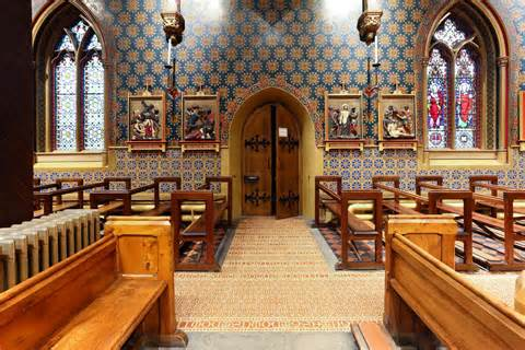 Gothic Home Decorations st giles r c church cheadle staffordshire tiles
