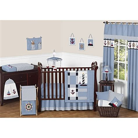 Jojo Design Crib Bedding Sweet Jojo Designs Come Sail Away Crib Bedding Collection Bed Bath Beyond