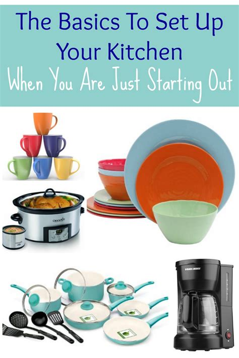 how to set up your kitchen kitchen basics when starting out the shirley journey