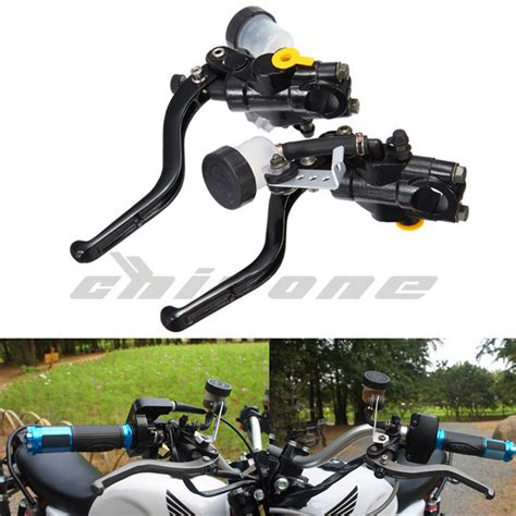 Brake Rem Lever Sepeda Alloy Cstar sepeda motor rem hidrolik kopling tuas 7 8 quot 22 mm aluminium alloy sepeda motor yang universal
