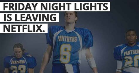 is friday night lights on netflix blog www playon tv
