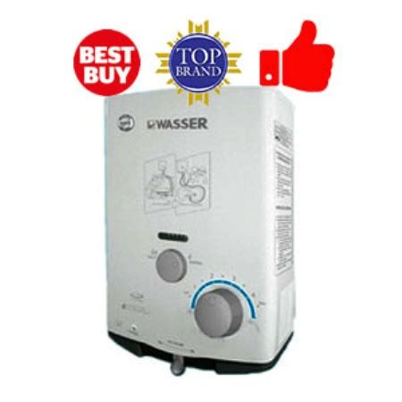 Kamera Water Heater jual wasser water heater gas low pressure wh506a 89