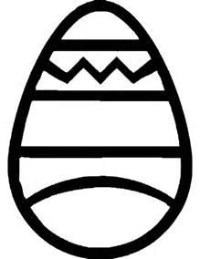 easter egg outline clipart best