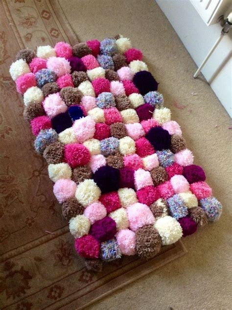 pom pom rug pom pom rug decoration for a more cheerful and colorful