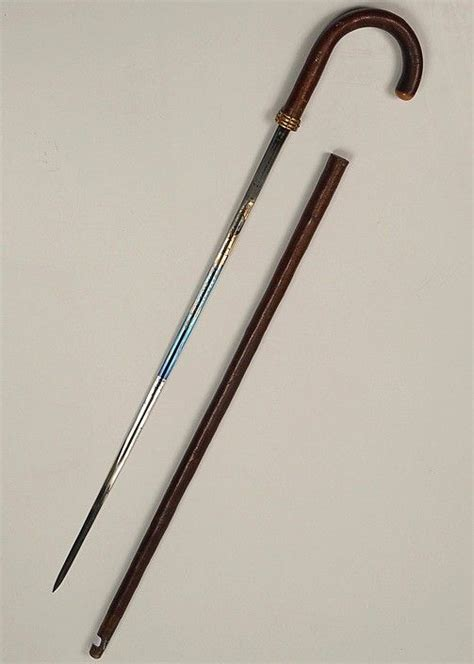 antique walking stick or that has a large antique walking stick sword value pics
