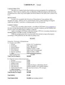 how to write a career plan template career plan template besttemplates123