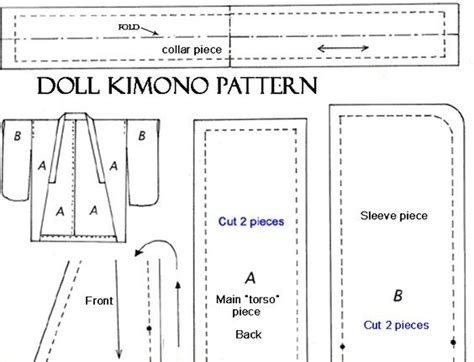 kimono pattern for barbie free kimono pattern for doll free 18 quot doll patterns
