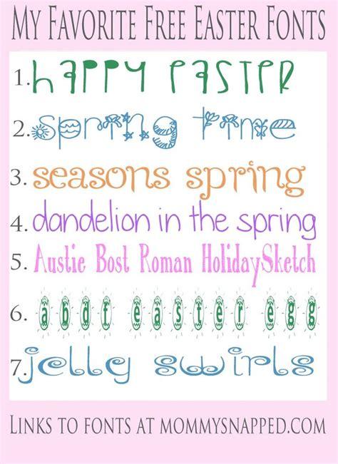 printable easter fonts free easter fonts fonts fonts love fonts pinterest