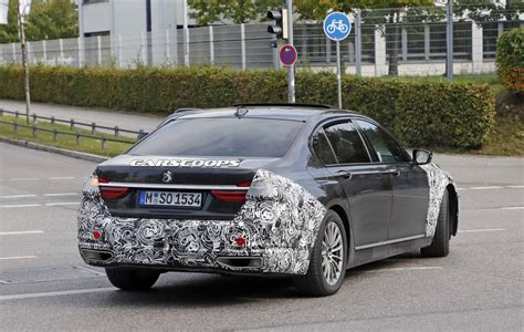 bmw 7 series facelifted 2019 bmw 7 series to adopt more dynamic design