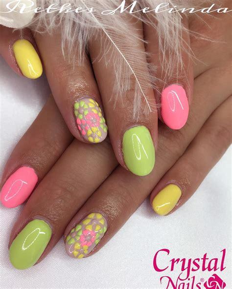 Easy Bright Nail Designs