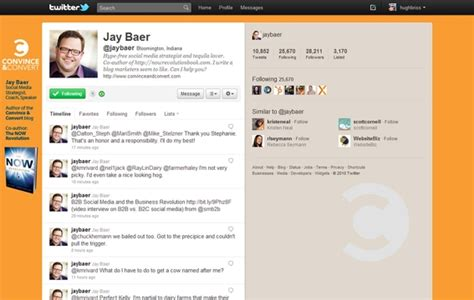 twitter layout creator designing for the new twitter layout practical ecommerce