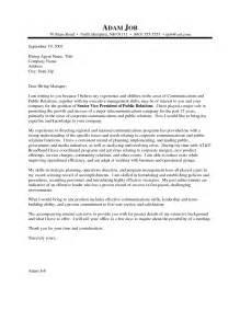 Sle Pr Cover Letter sle pr cover letter free cover letter