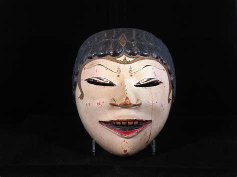 Topeng Mask Rinegantobi 3 Eye wayang topeng mask indonesia sold mask used for wayang flickr