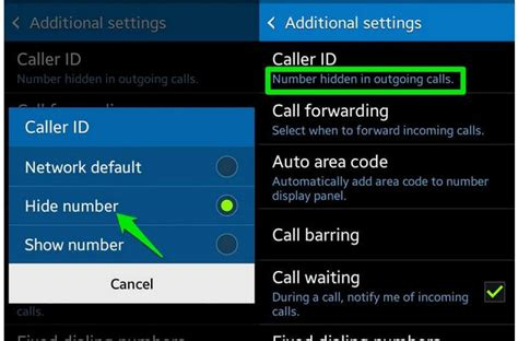 android caller id how to hide phone number caller id in android yologadget