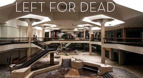 ghostly images of abandoned malls houses and buildings by abandoned shopping centres look like sad empty video