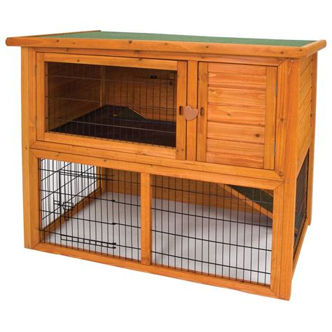 Bunny Hutch Ware Premium Plus Penthouse Rabbit Hutch Chicken Coops