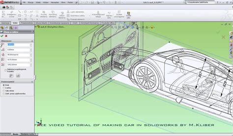 tutorial online solidworks part 01 free tutorial of making a car in solidworks audi