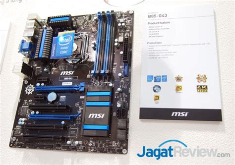 Msi H81m E35 V2lga1155 Haswell computex 2013 booth raid msi motherboard part 2 jagat review