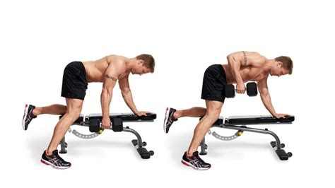 dumbbell rows without bench dumbbell row men s fitness