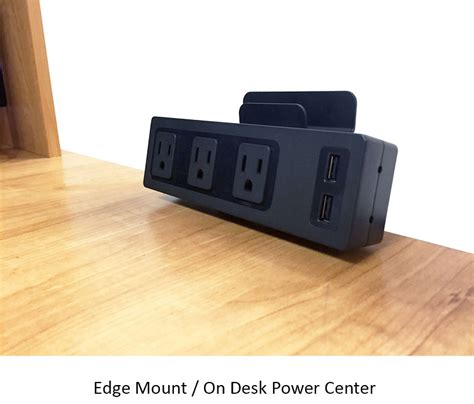 Universal Power Centers Desktop In Desk Under Desk