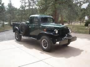 1951 dodge power wagon 15 000 co 4x4 4sale