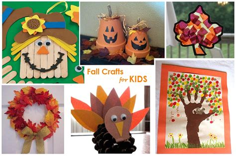 fall kid crafts autumn lights picture autumn crafts