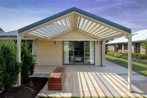 Patio Sun Roof by Stratco Outback Sunroof Pergola Verandahs Stratco