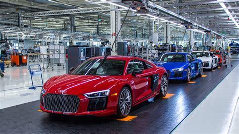 Audi Neckersulm by Besuch Im Audi Forum Neckarsulm Und Der Audi R8 Manufaktur
