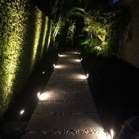 landscape path light led modern low profile accent path lighting modern