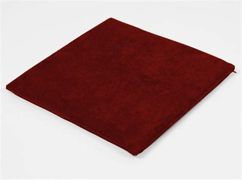 Foam Chair Pads by Suede Cover Rebond Foam Chair Pad Lasting Support Comfort