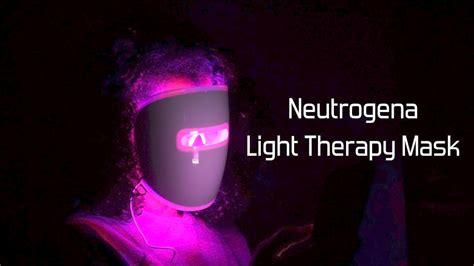 neutrogena light therapy mask neutrogena light therapy acne mask review youtube