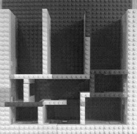 Grundriss Legobau