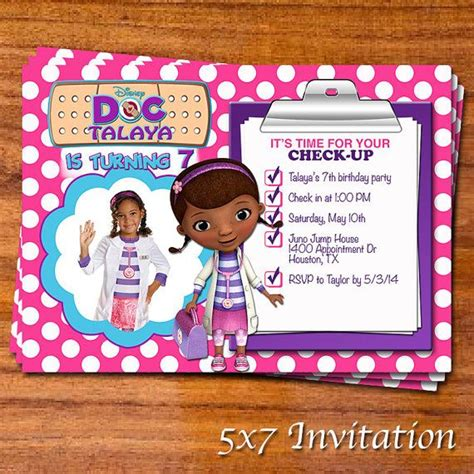 free doc mcstuffins invitation templates doc mcstuffins invitation