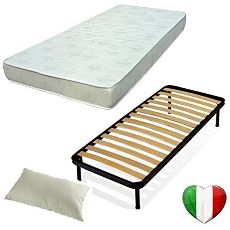 rete e materasso set 80x190 rete materasso e guanciali kit letto completo