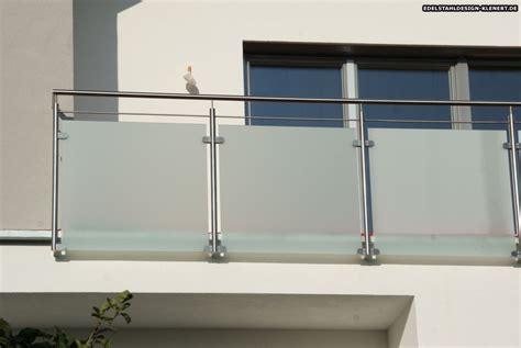 balkongelã nder shop balkongel 228 nder edelstahl glas wei 223 design in