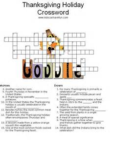 thanksgiving crossword puzzles printable thanksgiving crossword puzzle thanksgiving pinterest