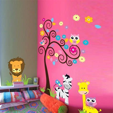 kinderzimmer deko rosa 50 deko ideen kinderzimmer reichtum an farben motiven